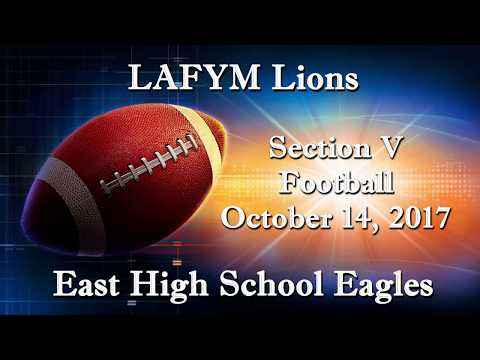 Leadership Academy for Young Men Lions versus The East High School Eagles - October 14, 2017