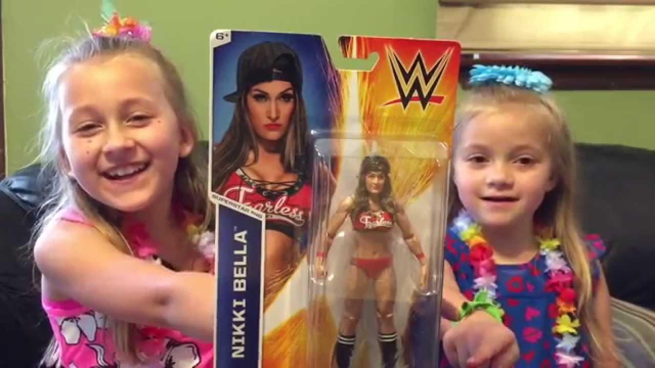 Nikki Bella Mattel Wwe Wrestling Figure Review Youtube