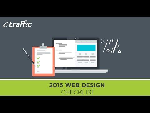 2015 Web Design Checklist
