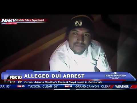 FULL: NFL Player Michael Floyd Alleged DUI Arrest Video
