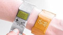 Cette marque vend des montres en papier ?