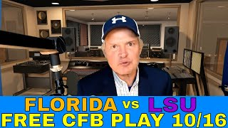 College Football Week 7 Picks and Predictions | Florida vs LSU SEC Betting Preview | CFB Free Play