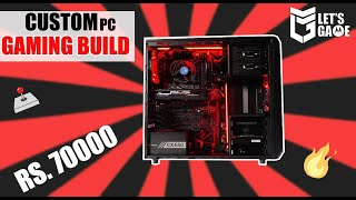 DIY Gaming PC Assembly in Rs. 70000 | Parts, Build...