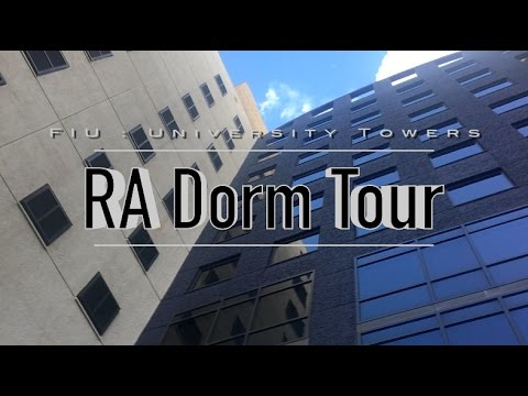 FIU University Tours RA Room Dorm Tour!