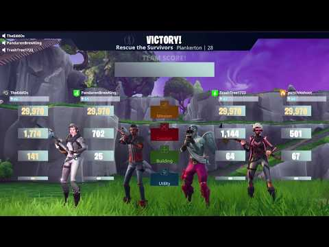PUMP UP THE VOLUME! Fortnite Relay Survivor Mission (6/6)
