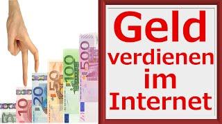 Geld Verdienen Im Internet | Online Geld Verdienen Für Anfänger Und Einsteiger