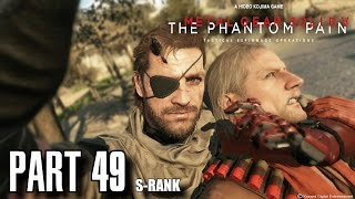 Metal Gear Solid 5 The Phantom Pain Walkthrough Part 49 - Subsistence Occupation Forces