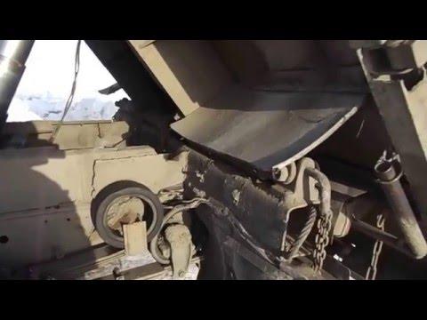 Самосвальная установка на зил - 130