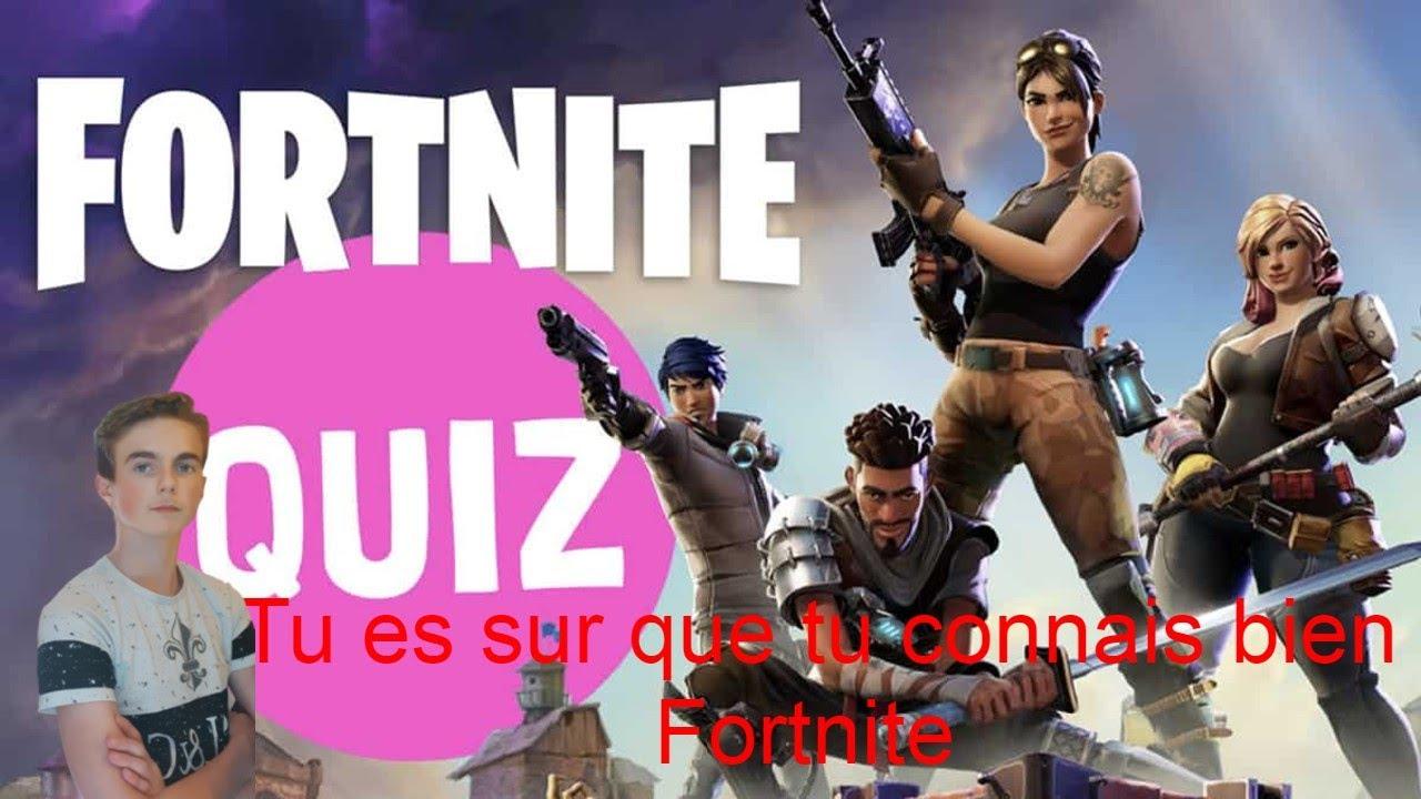 Quiz Fortnite Battle Royale - YouTube