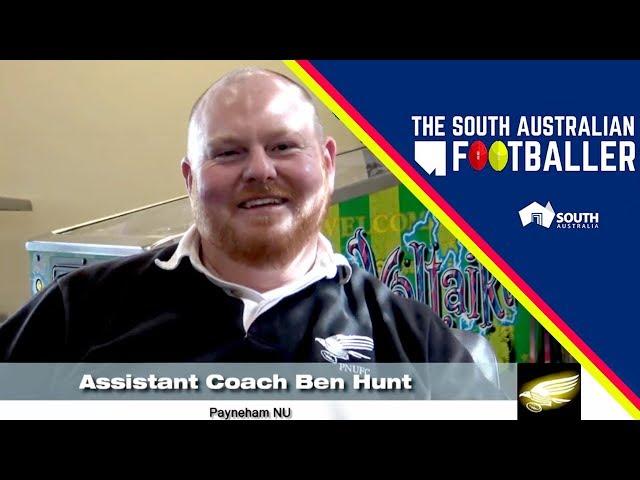 SA Adelaide Footballer 4-1: Club Legend of the Week - Payneham NU Assistant Coach, Ben Hunt