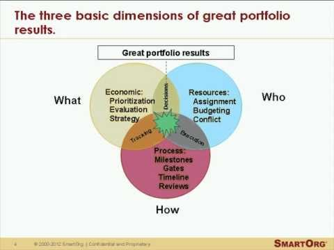 Principles of Good Strategic Portfolio Management