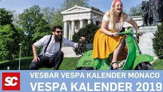 Vesbar Vespa Kalender Calendar