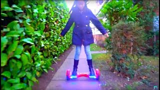 Ride on Hovertrax Segway Having Fun with Alex