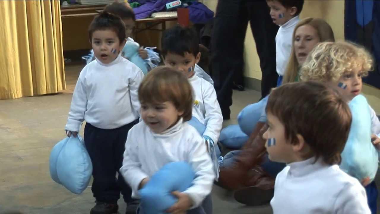 D a de la bandera en el jard n de infantes san francisco for Asistenciero para jardin de infantes