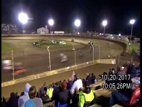 10-20-17 KOKOMO SPEEDWAY, IN  KOKOMO KLASH 11, WINGED 600 - F