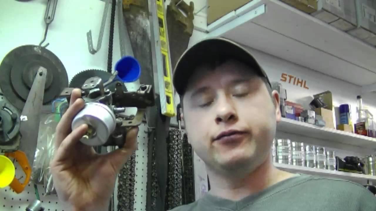 Carburetor Rebuild on 4-7HP Tecumseh Snowblower Engine Part 2/2
