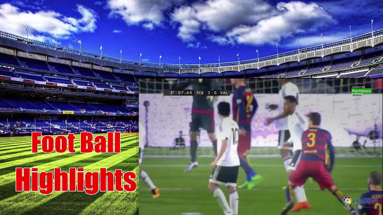 Barcelona vs Valencia 7 - 0 2016 ~All Goals & Full Match ...