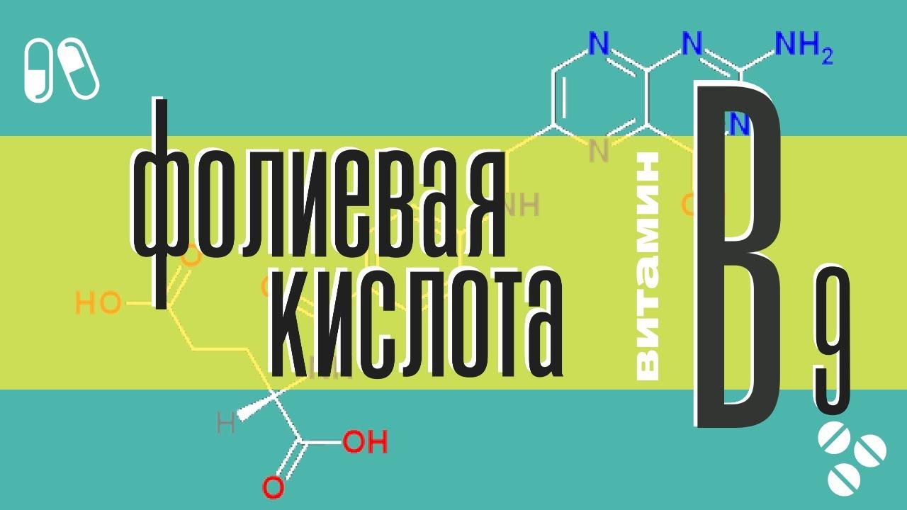 Фолиевая кислота (витамин В9): причины дефицита, в каких продуктах, краткий обзор