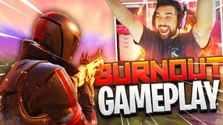 """NEW """"BURNOUT GAMEPLAY"""" in Fortnite: Battle Royale!"""