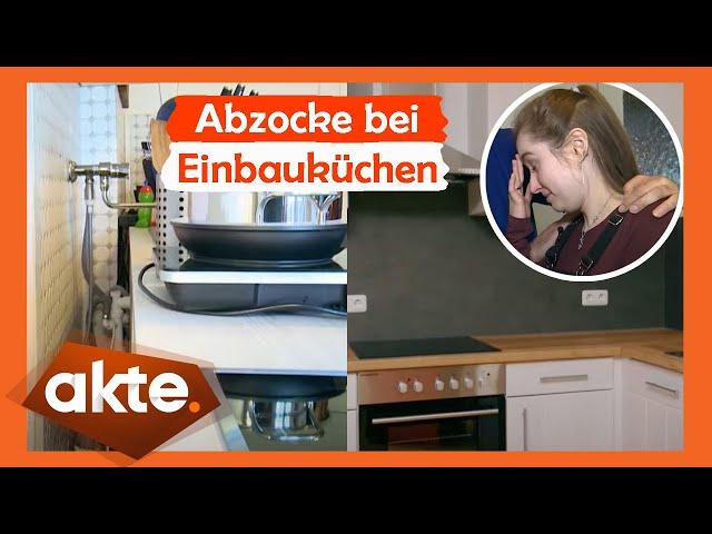 Abzocke bei Einbauküchen - teuer gegen billig   Akte   SAT.1