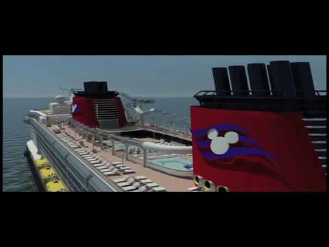 AquaDuck Virtual Ride & Disney Dream Inside View