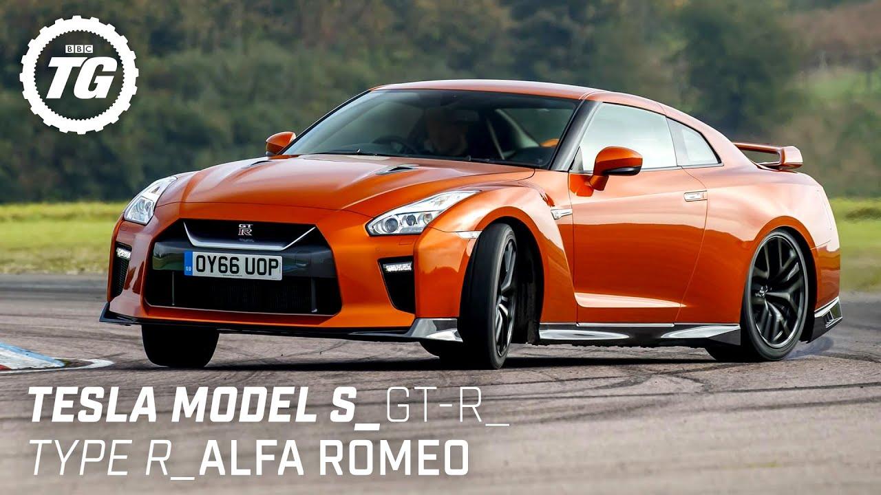 Chris Harris Drives... Best of Practical Performance: Tesla Model S, Nissan GT-R   Top Gear