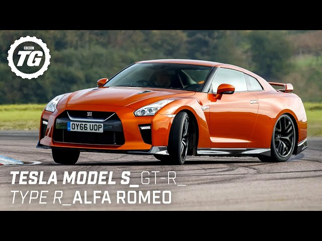 Chris Harris Drives... Best of Practical Performance: Tesla Model S, Nissan GT-R | Top Gear