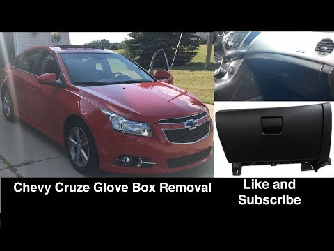 Chevrolet Cruze Glove Box Removal / Replacement