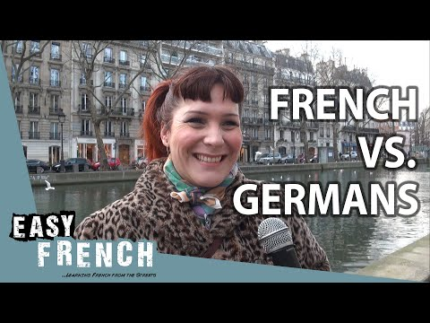 What French people think about Germans | Easy French 98