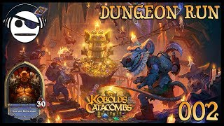 Hearthstone | Kobolds & Catacombs | Dungeon Run 002 | Warrior