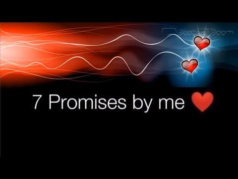 7 Promises || Romantic Status || Cute Status || New Whatsapp Status Video || By Beats and Boom