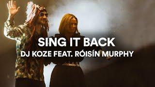 """DJ Koze - """"Sing It Back"""" feat. Róisín Murphy   Live at Sydney Opera House"""