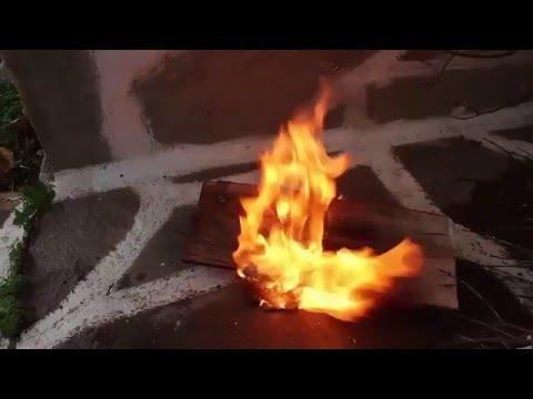 Cách làm xăng đặc (Na-pan), dùng để làm bom xăng