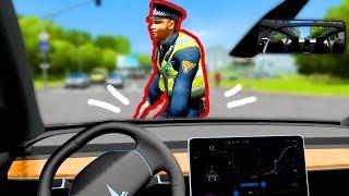 City Car Driving - Cosa succede se INVESTI UN VIGILE
