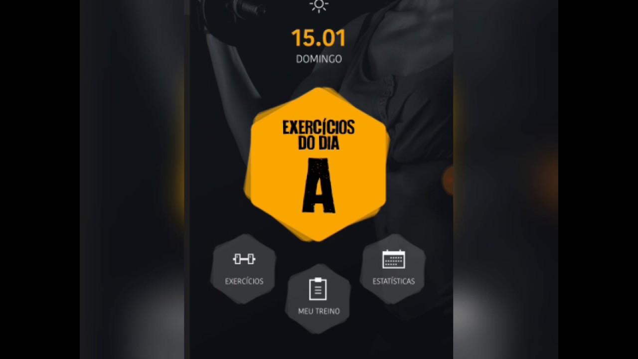 Famosos Aplicativo/App para criar séries/treinos em Academia ou casa  NS13