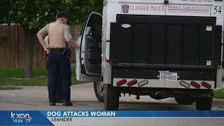 Leander woman attacked by neighbor's dog nearly lost hand, friends say
