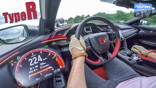 2018 Civic Type R (320hp) - 0-260 km/h LAUNCH START!