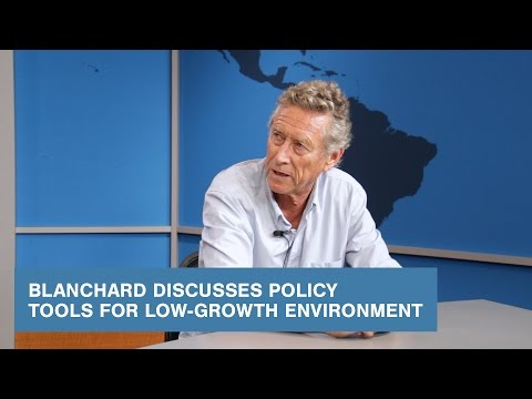 Blanchard Discusses Policy Tools for Low-Growth Environment