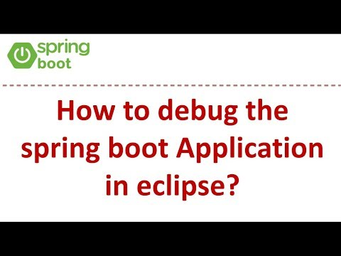 how-to-debug-the-spring-boot-application-in-eclipse?-|-spring-boot-tutorial