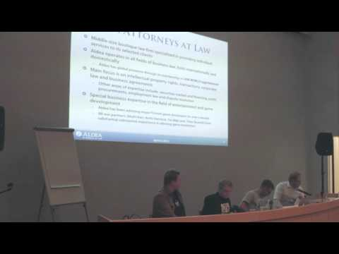 IGDA May Presentation: Legal considerations when starting a