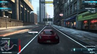 Alpha Romeo 4C Concept vs Alpha Romeo 4C Concept | Need for Speed Most Wanted