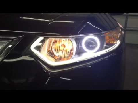Acura TSX Custom Lighting YouTube - 2018 acura tsx headlights
