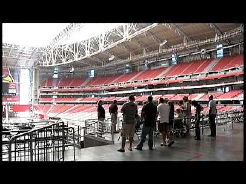 Glendale's Great Adventures - University of Phoenix Stadium