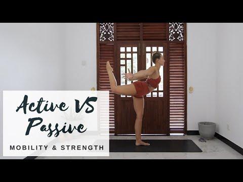 ACTIVE VS PASSIVE   Yoga For Strength & Mobility   CAT MEFFAN