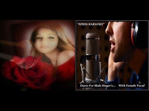 NISHA KARAOKE-Dil Tarap Tarap Ke-With Female Vocal