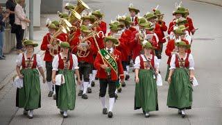 🎺 Bezirksmusikfest in Stans in Tirol 2019 - Festumzug