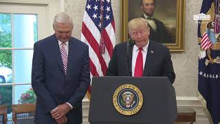 The White House President Trump Presents the Presidential Medal of Freedom to Jerry West