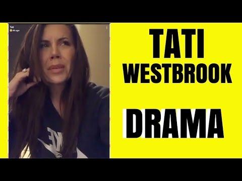 TATI WESTBROOK CRYING OVER HOW SHE FEELS thumbnail