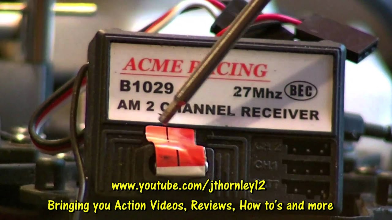 Acme Radio Series Racing Receivers And Channels Youtube Frequency Crystal Am Receiver Electrical Engineering