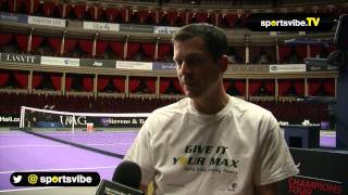 Tim Henman Interview - Andy Murray In 2014 And Coaching Future Stars